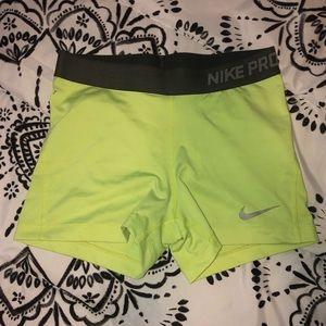 "Nike Pro 3"" Spandex"